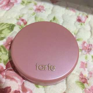 (REDUCED)Tarte paaaarty blusher / deluxe size