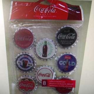 可口可樂 樽蓋共8個