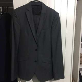 Hardly worn ASOS Suit Charcoal Grey