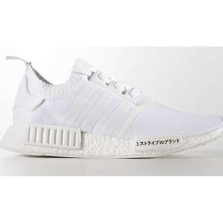 Adidas NMD - NEW NMD R1 PK Japan Boost Triple White (REAL)