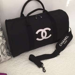 Chanel duffle travel bag authentic