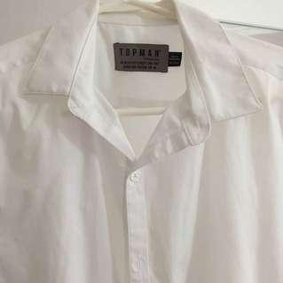 Topman white shirt hardly won