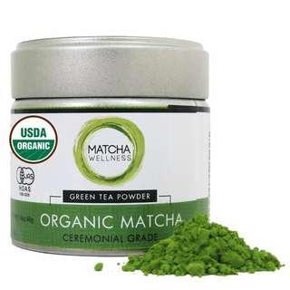 Matcha Green Tea Powder Ceremonial Grade 40g – USDA Organic   1st Harvest Premium Matcha From Uji – Eco Heed
