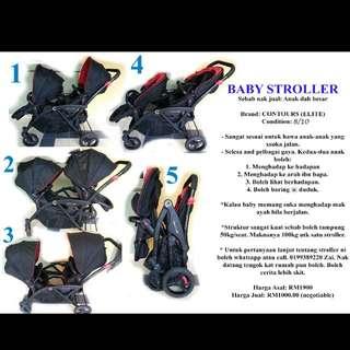 Baby Stroller Contours Elite