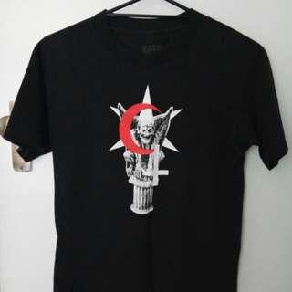 Vintage Black Scale T-Shirt