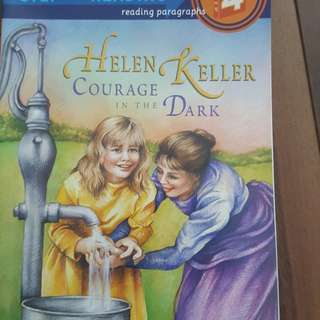 Helen Keller Courage in the Dark (Step into reading)