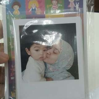 Polaroid Printing (RM0.70/pcs if minimum 100pcs)