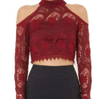 Brand New With Tags Airlie Crochet Top