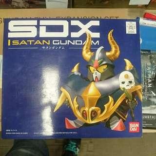 SDX Satan Gundam MISB BNIB Bandai Die-Cast not SD BB Gunpla model kit
