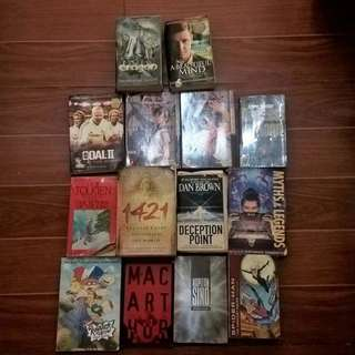 ALL 13 BOOKS Lord of the Rings Tolkien Spiderman