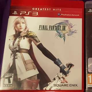 PS3 Final Fantasy XIII