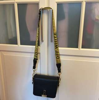 Off white Crossbody bag