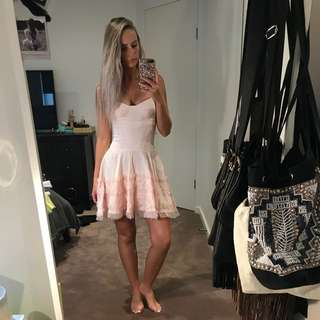 TIGERLILY Pink Dress With Frills