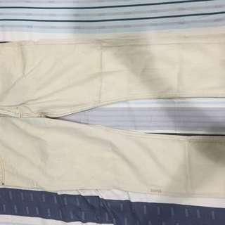 Jeans Putih Gading