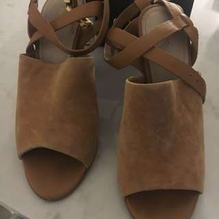Mimco brown sandal