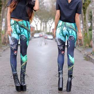 King Kong Leggings size S
