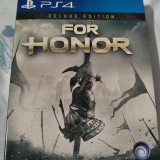 PS4 For Honour Deluxe Edition