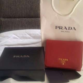 Repriced: prada wallet