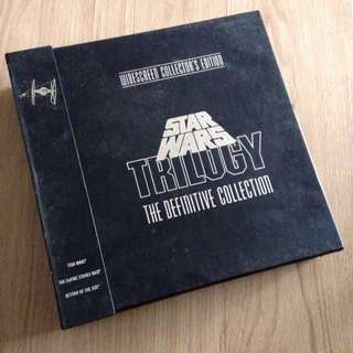 Widescreen Collector's Edition Star Wars Trilogy The Definitive Collection