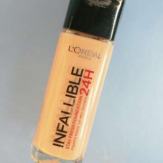 L'Oreal Infallible 24Hr Stay Fresh Foundation