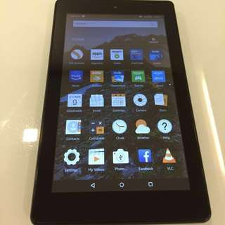 """All-New Amazon Fire 7 Tablet with Alexa, 7"""" Display, 8 GB, Black"""