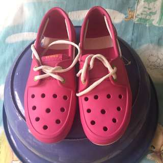 CROCS Pink Loafers