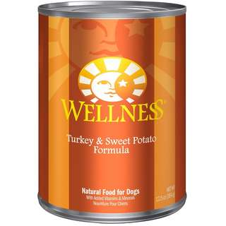Wellness Complete Health Turkey & Sweet Potato Canned Dog Food 354g x 24 cans