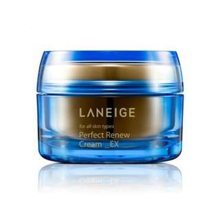 Laneige perfect renew cream_EX