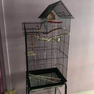 ‼️Budgie cage with accessories ‼️