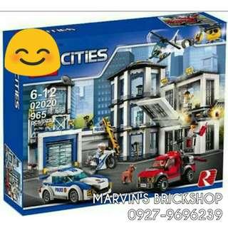 For Sale Police Station Building Blocks Toy L 02020