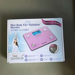 Brand new Guardian mini body fat / hydration monitor