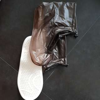 Rain Shoe cover for Motorcyclists protect shoe during rain