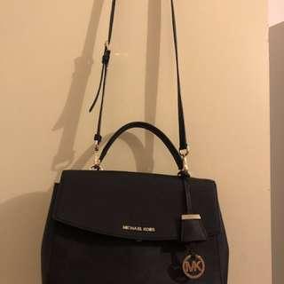 Michael Michael Kors Ava Medium Saffiano Leather Satchel