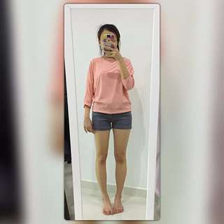 🆕 Free Size Light Pink Top~