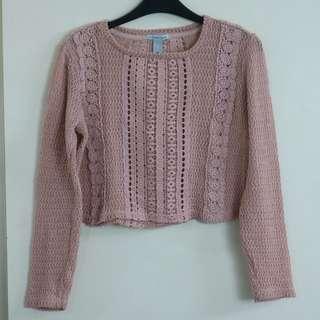 Knitted Crop Longsleeves