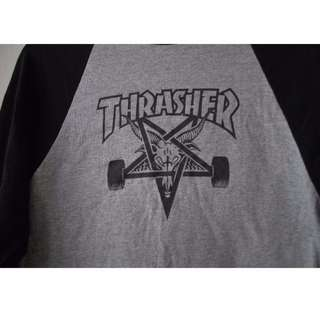Authentic Thrasher Skategoat Raglan Size S