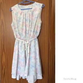 漂亮花花pattern 裙