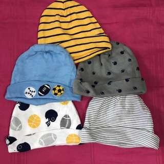 Gerber Childrenswear 0-3 months Caps