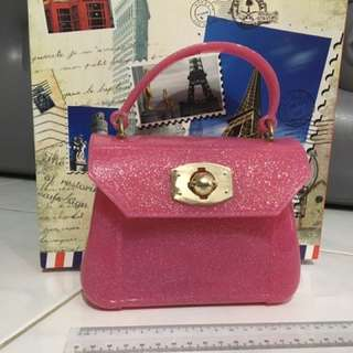 NEW Pink Jelly Bag