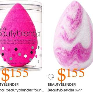 $155/1個 beauty blender all color  濕粉用海綿