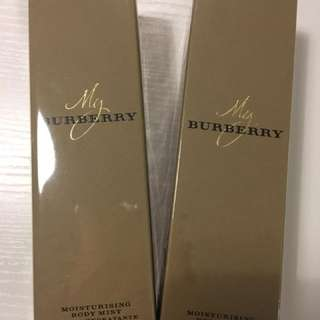 My Burberry MOISTURISING BODY MIST 女士身體保濕噴霧