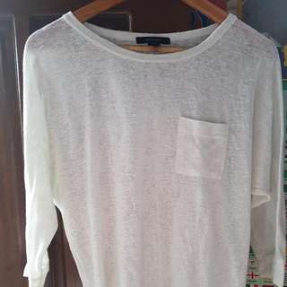 Preloved White Long Sleeve