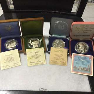 Today Offer !!!! Singapore Silver Proof Coin Set