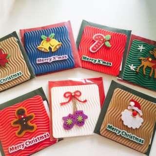 Mini Christmas Cards (7 pcs)