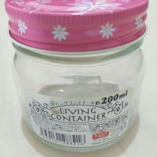 Daiso 13pcs Brand New 200ml Living Container