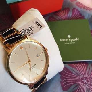 Kate Spade New York's Two-toned gramercy watch