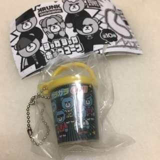 🈹KRUNK x BIGBANG 日本 官方 正品 限定景品 絕版 BIGBANG 扭蛋 玩具 爆谷 小筒 匙扣(GARAGARA GO)