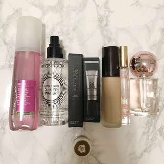 Various makeup new and used