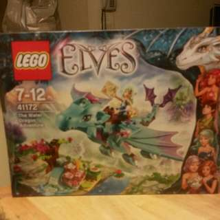 Lego 41172 elves 7 - 12 years the water dragon adventure