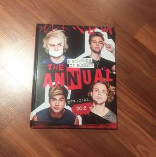 5SOS THE OFFICIAL ANNUAL 2016